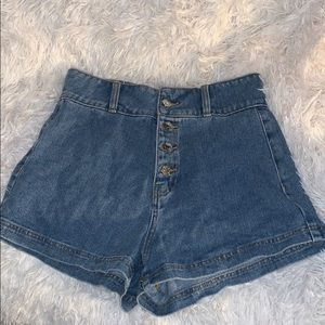Pacsun highwaisted / high waist mom jean shorts